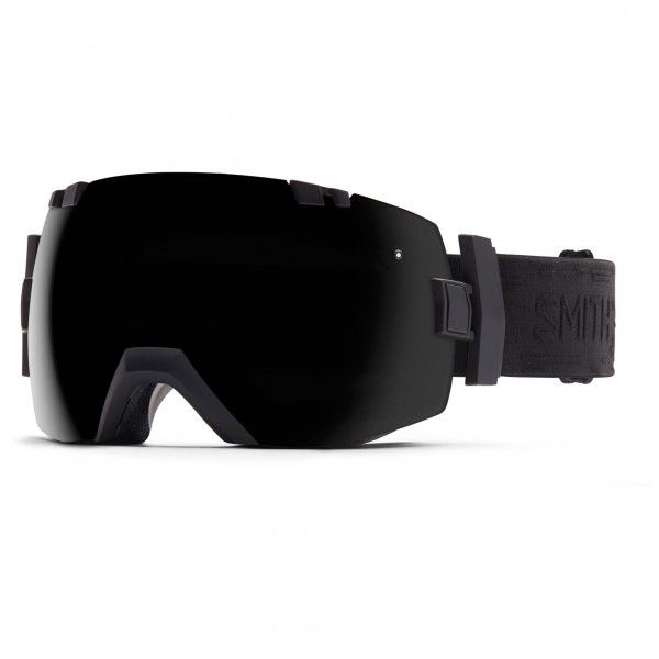 Smith - I/Ox Blackout / Red Sensor - Masque de ski