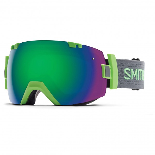 Smith - I/Ox Green Sol-X / Red Sensor - Masque de ski