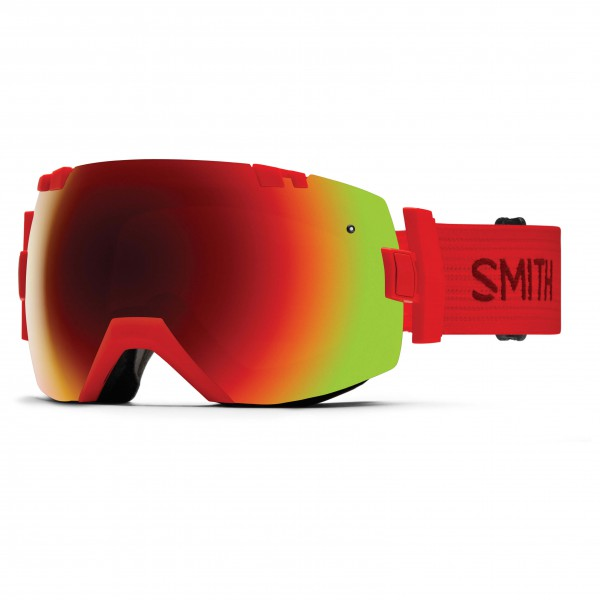 Smith - I/Ox Red Sol-X / Blue Sensor - Masque de ski