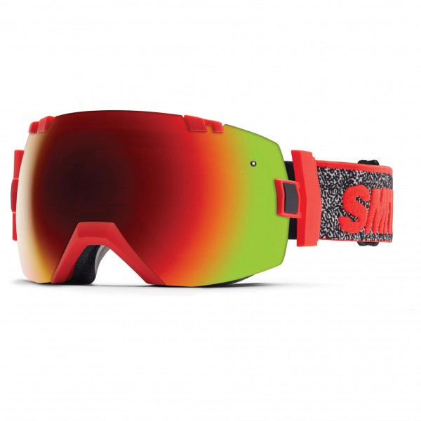 Smith - I/Ox Red Sol-X / Blue Sensor - Skibrille