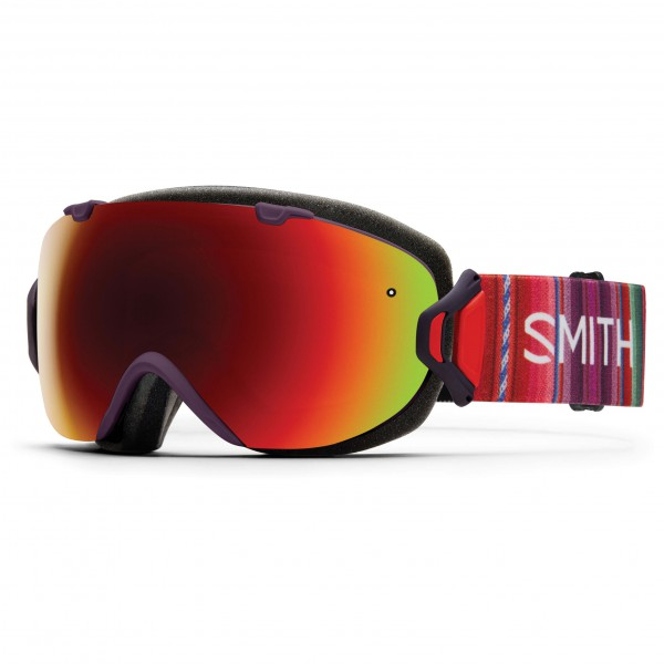 Smith - Women's I/Os Red Sol-X / Blue Sensor - Masque de ski