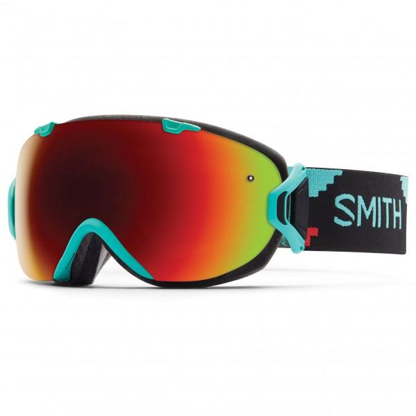 Smith - Women's I/Os Red Sol-X / Blue Sensor - Skibrille