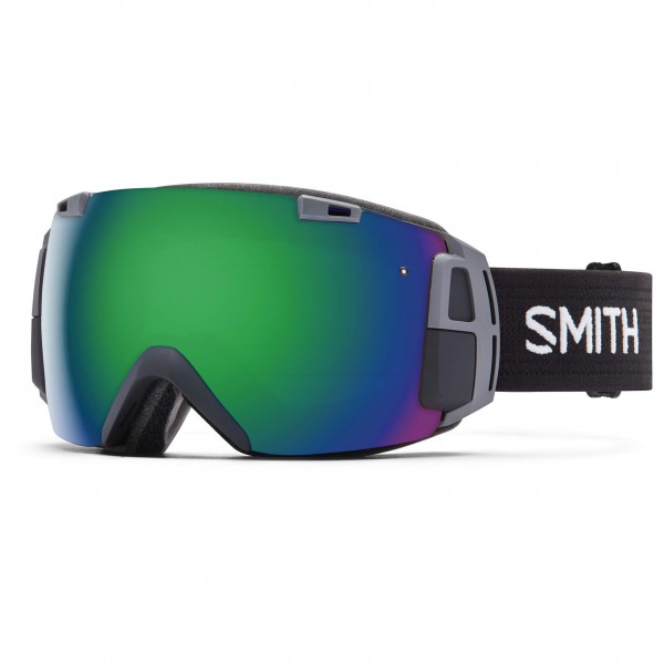 Smith - I/O Recon Green Sol-X / Red Sensor - Skibrille
