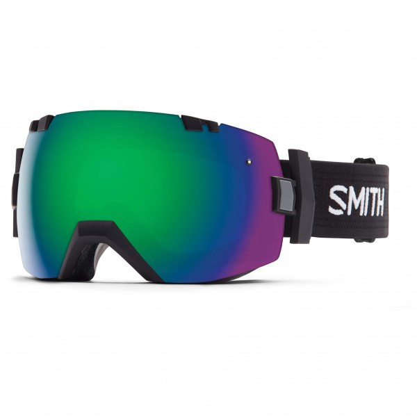 Smith - I/Ox T.Fan Green Sol-X / Red Sensor - Skibrille