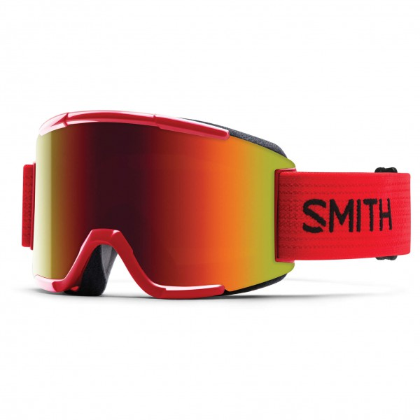 Smith - Squad Red Sol-X - Masque de ski