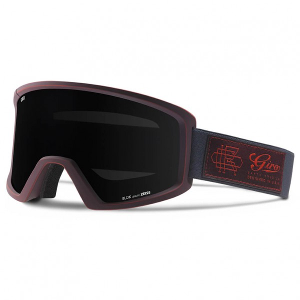 Giro - Blok Black Limo - Masque de ski