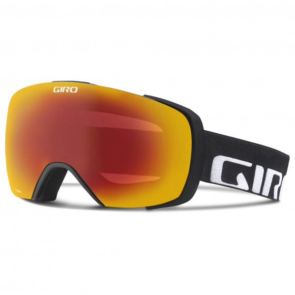 Giro - Contact Amber Scarlet / Yellow Boost - Masque de ski