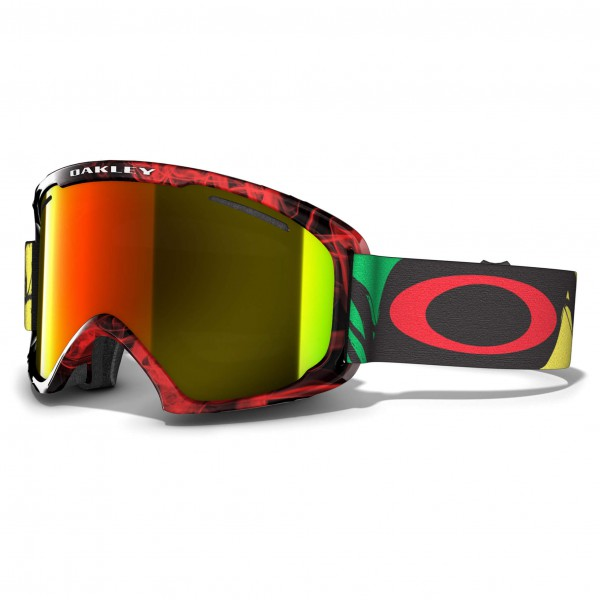 Oakley - O2 XL Fire Iridium - Masque de ski