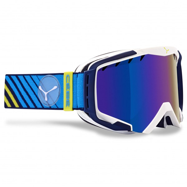 Cébé - Hurricane L Brown Flash Blue - Ski goggles
