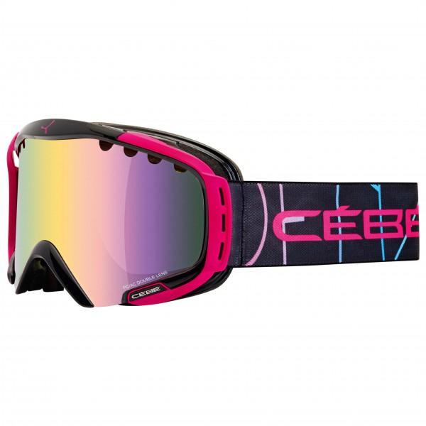 Cébé - Hurricane M Light Rose Flash Gold - Masque de ski