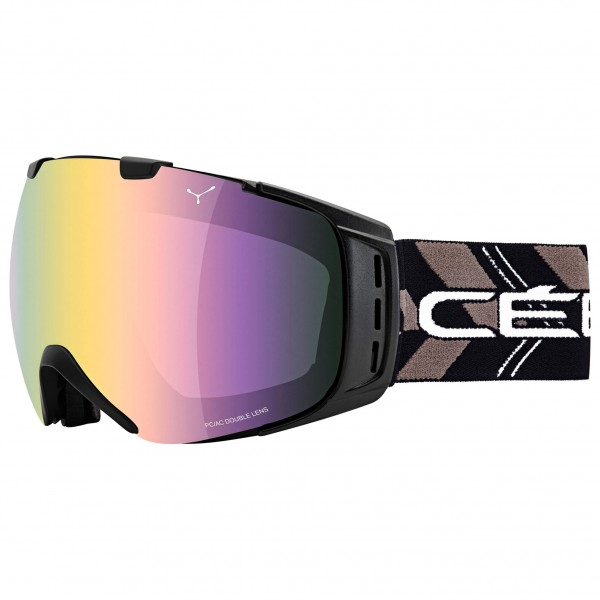 Cébé - Origins L Light Rose Flash Gold - Masque de ski