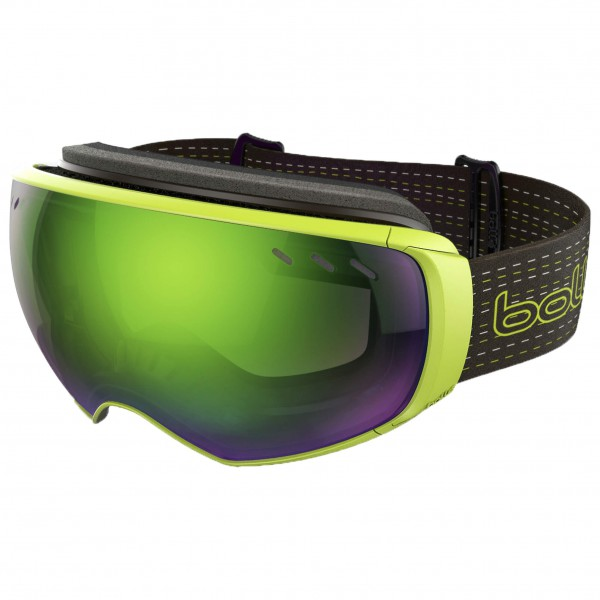 Bollé - Virtuose Green Emerald + Lemon Gun - Masque de ski