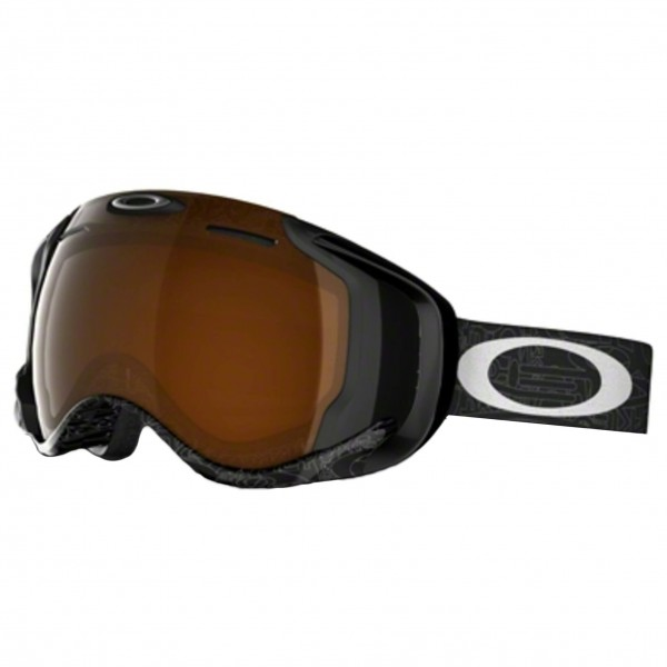 Oakley - Airwave Black Iridium - Skibril