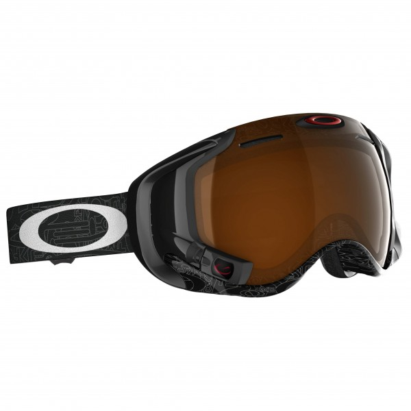 Oakley - Airwave Fire Iridium - Skibril