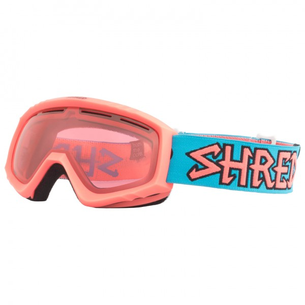 SHRED - Mini Air Blue Ruby Cat: S2 - Masque de ski