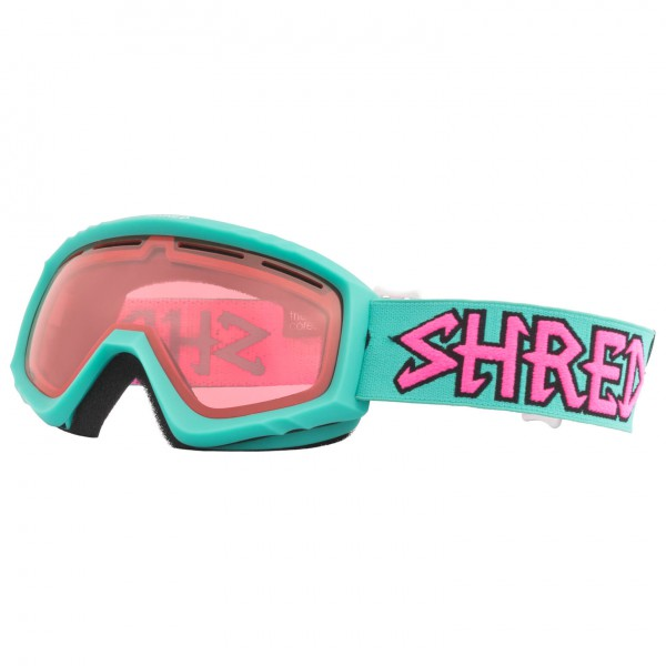 SHRED - Mini Air Mint Ruby Cat: S2 - Masque de ski