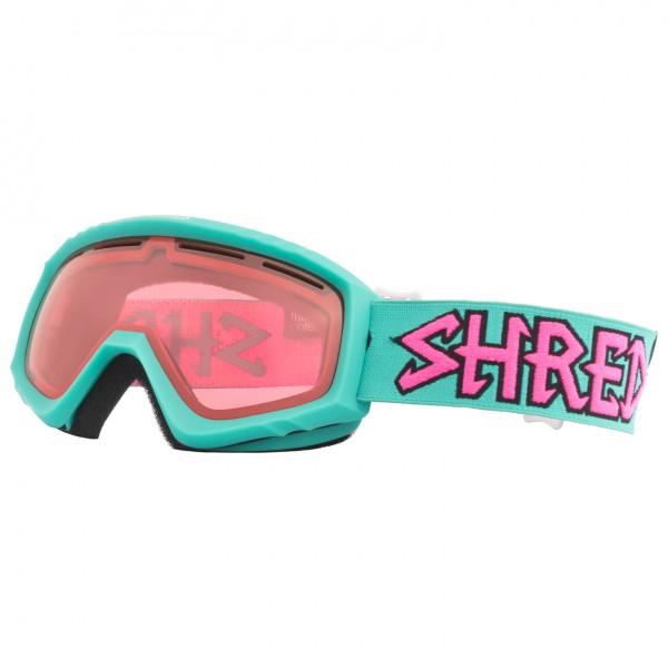 SHRED - Mini Air Mint Ruby Cat: S2 - Masque de ski