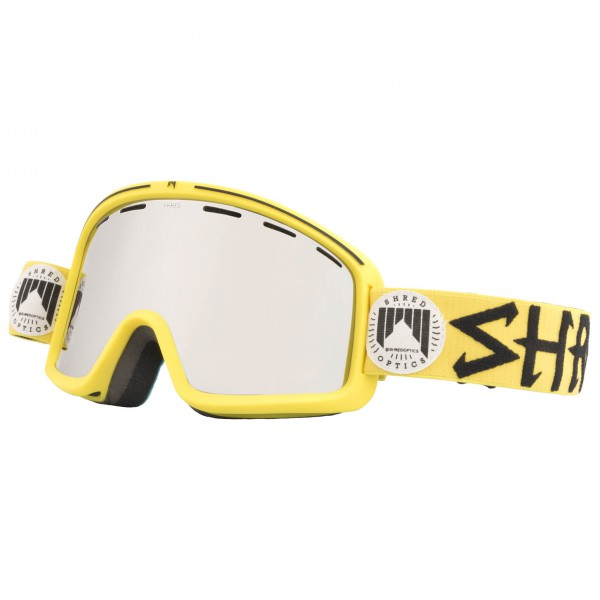 SHRED - Monocle Jaune Cat: S2 - Masque de ski