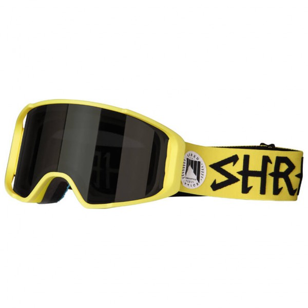 SHRED - Simplify Jaune Burn Reflect Cat: S1 - Masque de ski