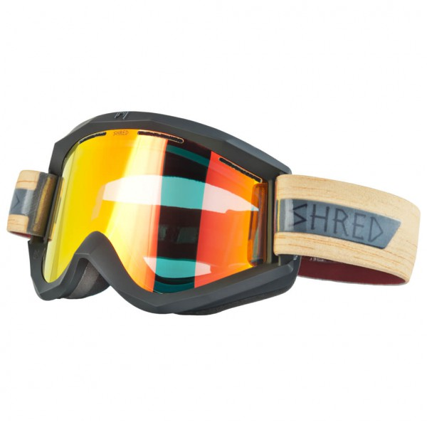 SHRED - Soaza Shrastawood Burn Reflect Cat: S1 - Ski goggles