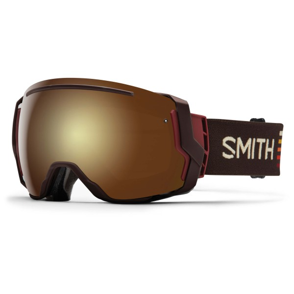 Smith - I/O 7 Gold Sol-X / Blue Sensor - Ski goggles