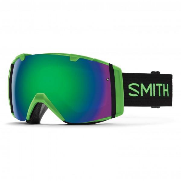 Smith - I/O Green Sol-X / Blue Sensor Mirror - Skibrille