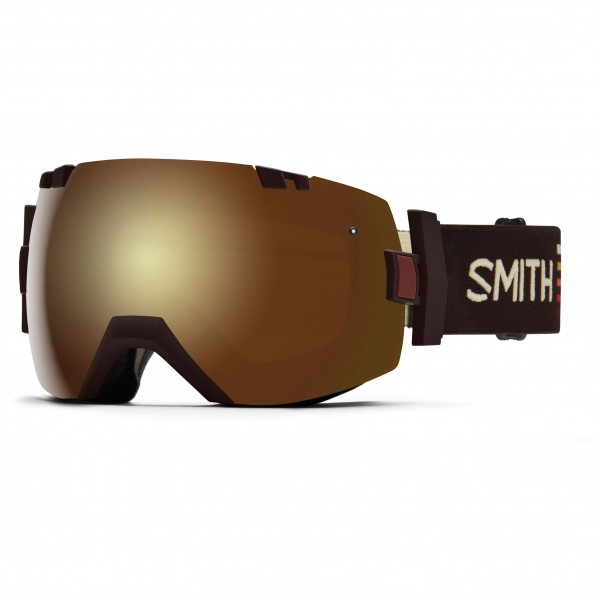 Smith - I/Ox Gold Sol-X / Blue Sensor - Skibrille
