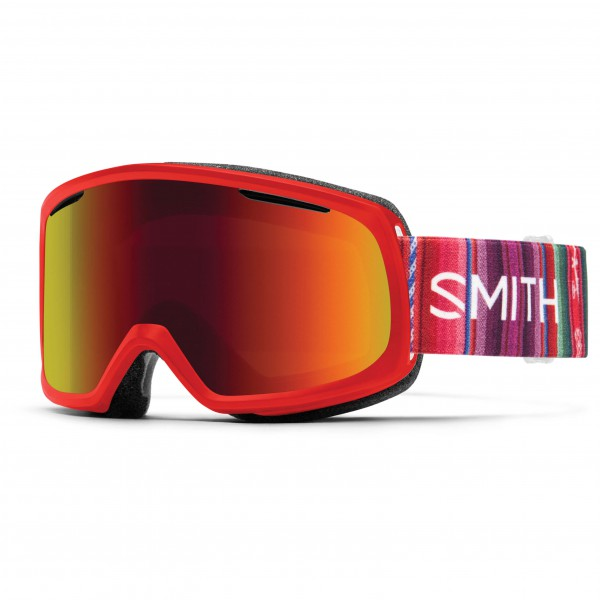 Smith - Women's Riot Red Sol-X / Yellow - Masque de ski