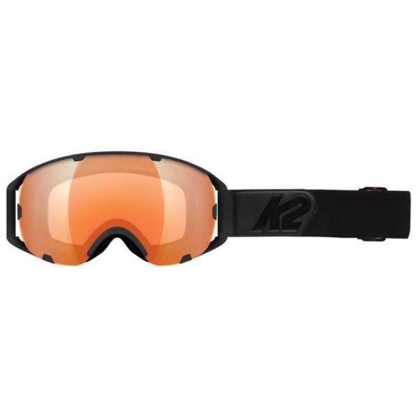 K2 - Source Blackout + Amber Flash - Masque de ski