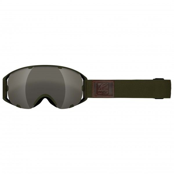 K2 - Source Silver Earth + Amber Flash - Ski goggles