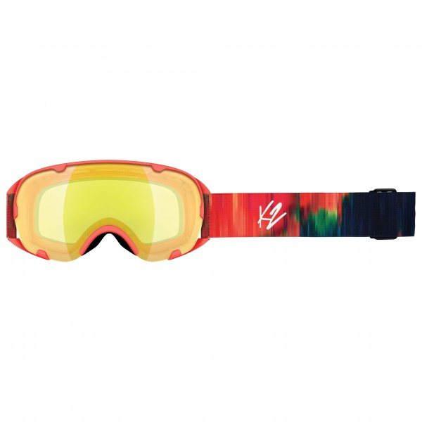 K2 - Women's Scene Aurora + Yellow Flash - Ski goggles