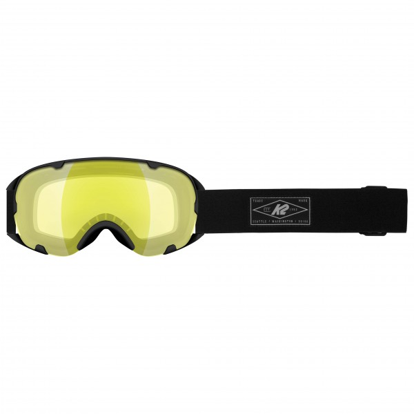 K2 - Women's Scene Black + Yellow Flash - Ski goggles