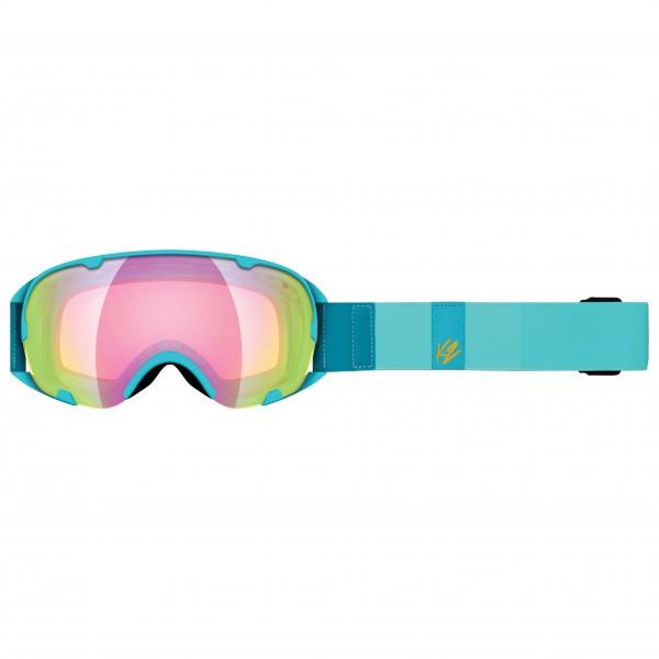 K2 - Women's Scene Sunrise + Amber Flash - Ski goggles