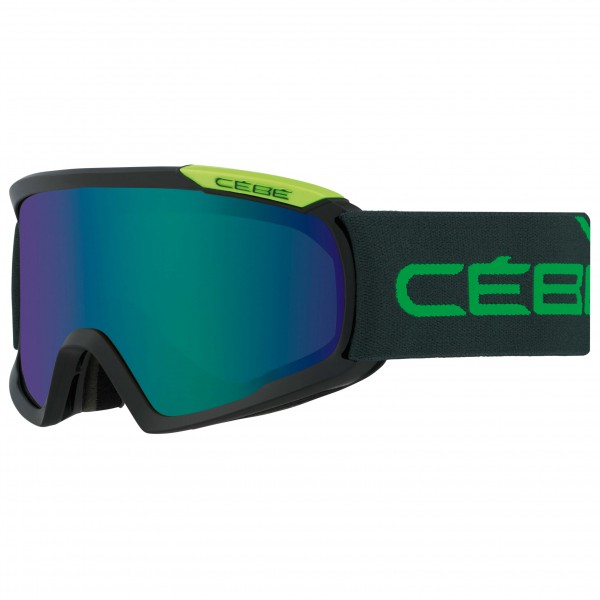 Cébé - Fanatic L Brown Flash Blue - Ski goggles