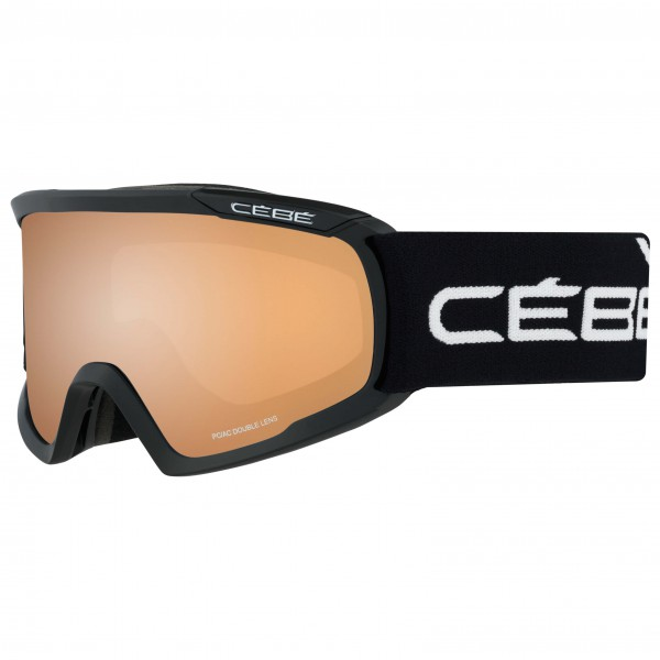 Cébé - Fanatic L Orange Flash Mirror - Masque de ski