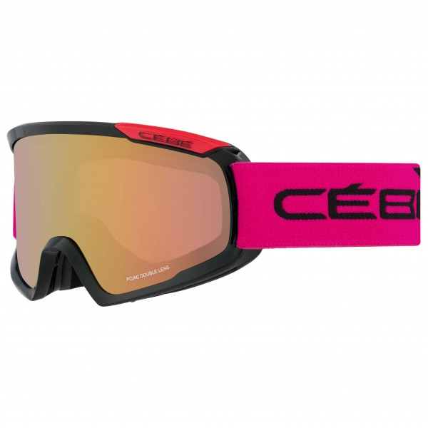 Cébé - Fanatic M Light Rose Flash Gold - Masque de ski