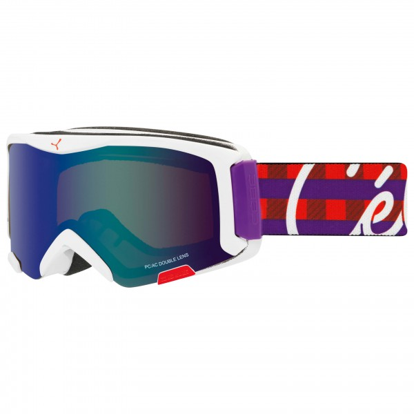 Cébé - Kid's Super Bionic S Brown Flash Blue - Masque de ski