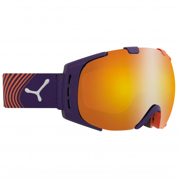 Cébé - Origins L Orange Flash Fire - Ski goggles