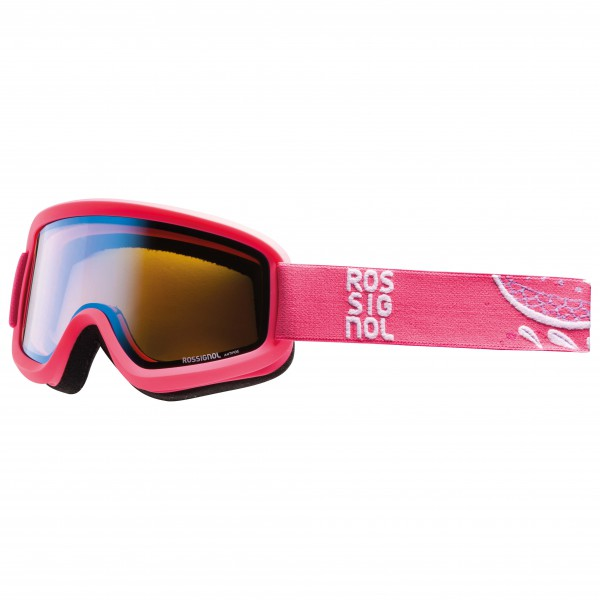 Rossignol - Women's Ace Flower Pink - Ski goggles