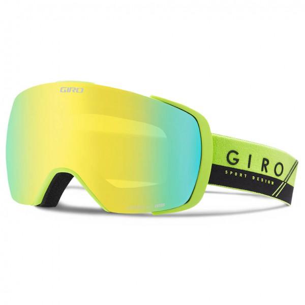 Giro - Contact Loden Yellow / Yellow Boost - Masque de ski