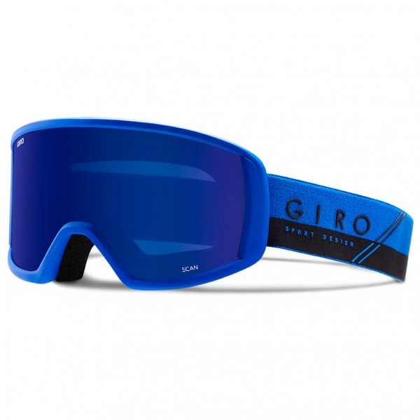Giro - Scan Grey Cobalt - Masque de ski