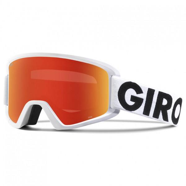 Giro - Semi Amber Scarlett / Yellow - Skibril