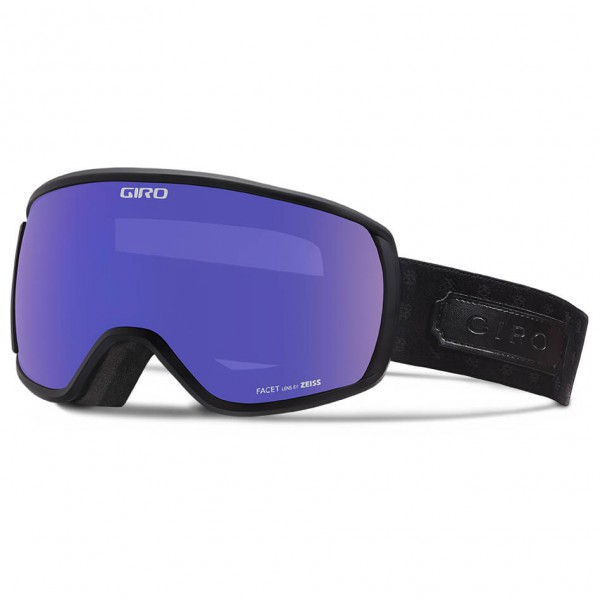 Giro - Women's Facet Grey Purple - Masque de ski