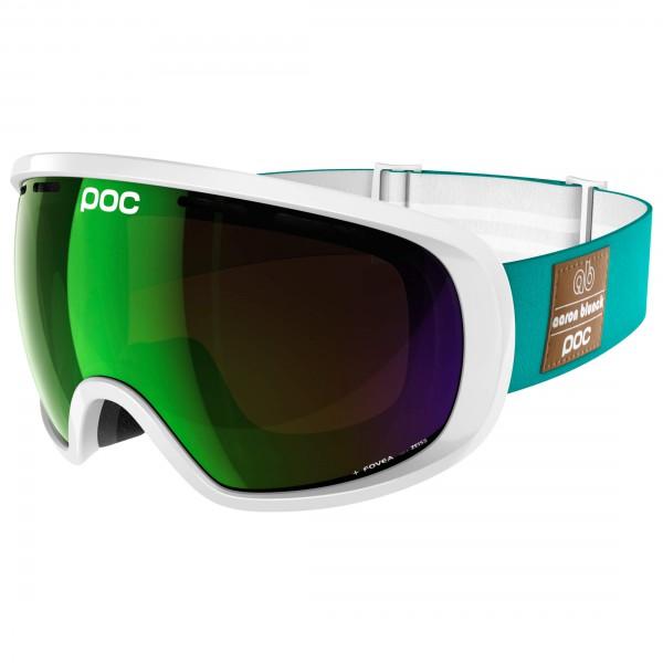 POC - Fovea Aaron Blunck Persimmon/Green Mirror - Masque de ski