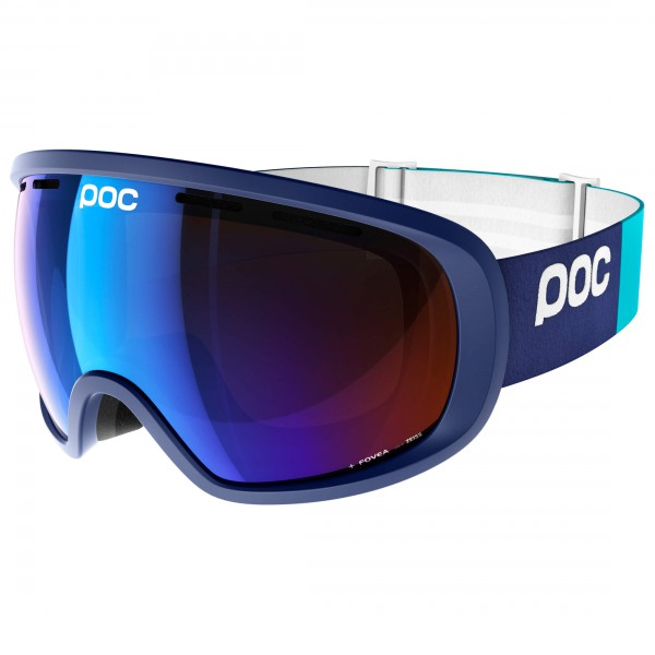 POC - Fovea Persimmon/Blue Mirror - Masque de ski