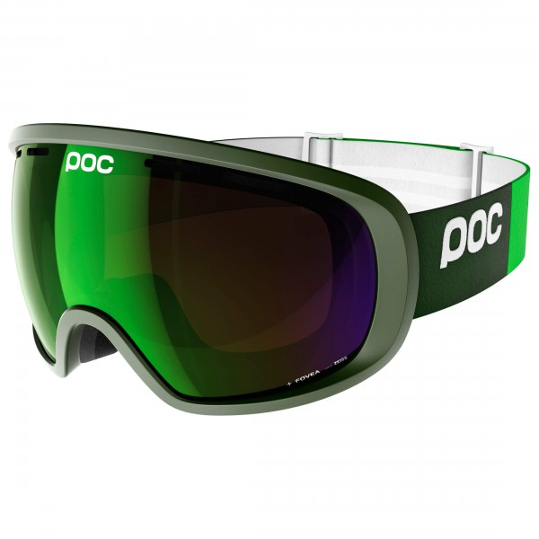 POC - Fovea Persimmon/Green Mirror - Masque de ski
