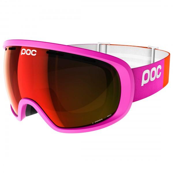 POC - Fovea Persimmon/Red Mirror - Masque de ski