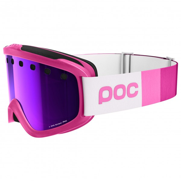 POC - Iris Stripes Grey/Purple Mirror - Skibril