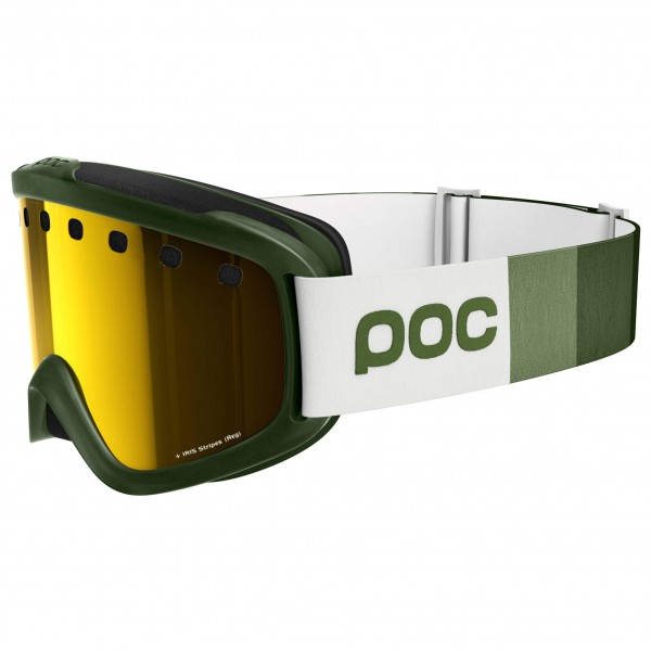 POC - Iris Stripes Pink/Gold Mirror - Ski goggles