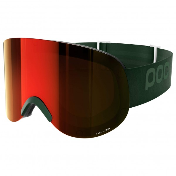 POC - Lid Persimmon/Red Mirror - Masque de ski
